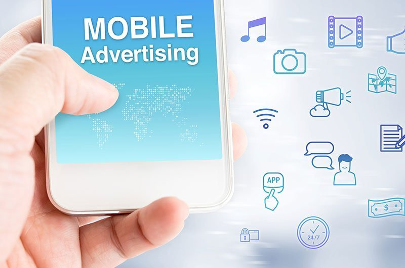 Mobile ads are ignored - Eye tracking research