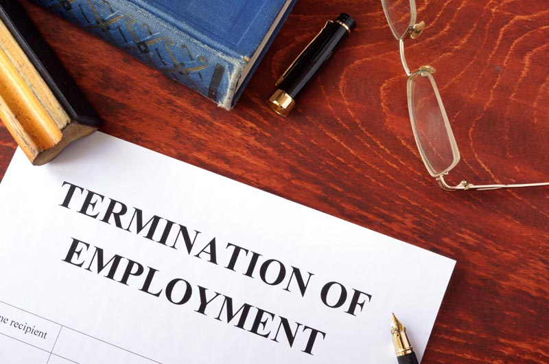 Employee termination form | iTMunch
