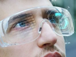 Augmented reality glasses for spinal surgery