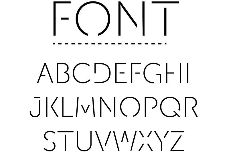 Create your own fonts with Prototypo