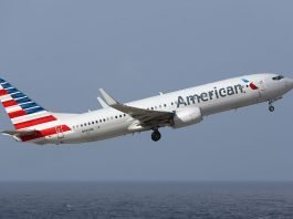 American Airlines geofence