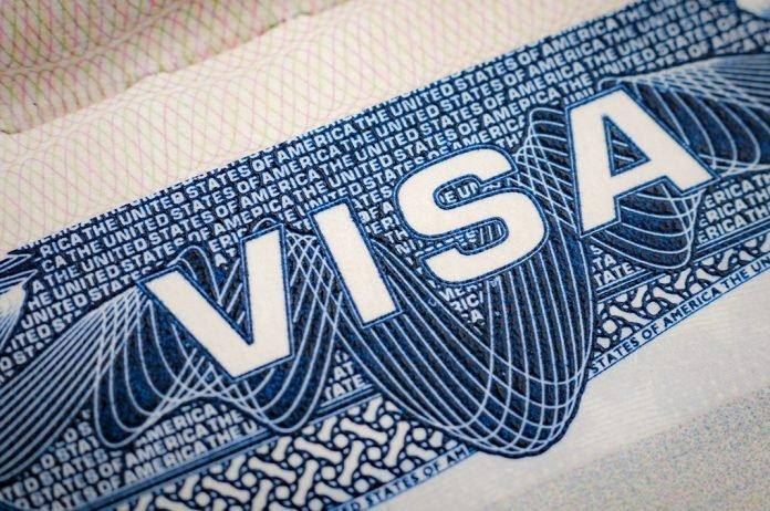 Visa printed on paper I iTMunch