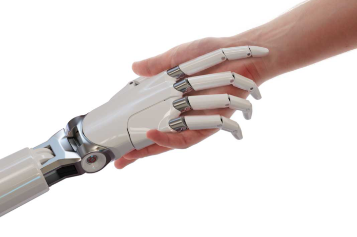 Human and robot hands | iTMunch