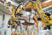 Machine used to develop automation services | iTMunch