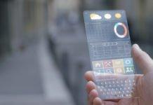 Transparent phone | iTMunch
