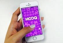 HOOQ display on the phone I iTMunch