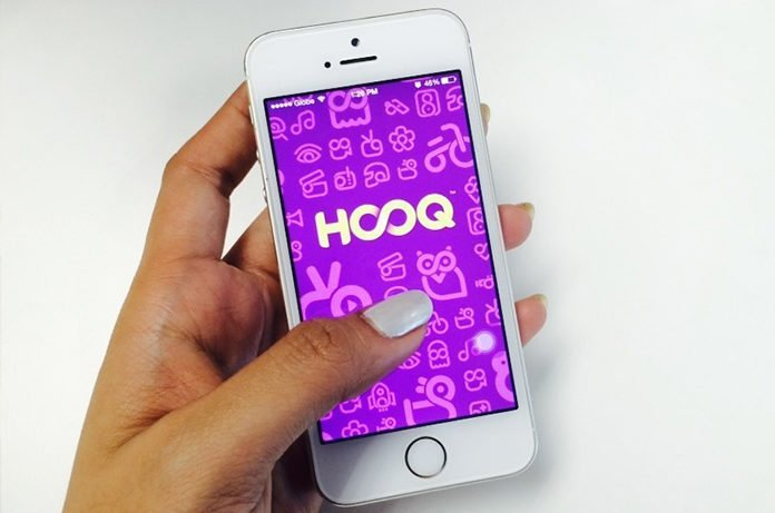 HOOQ display on the phone I iTMunch