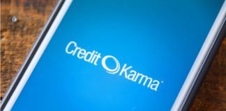 Credit Karma displayed on mobile phone