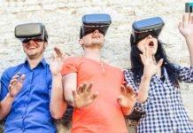Three people using VR | iTMunch
