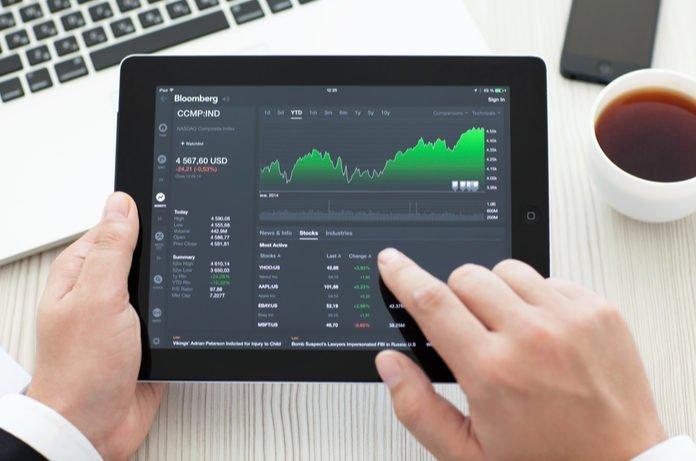 Stock market startup raises money