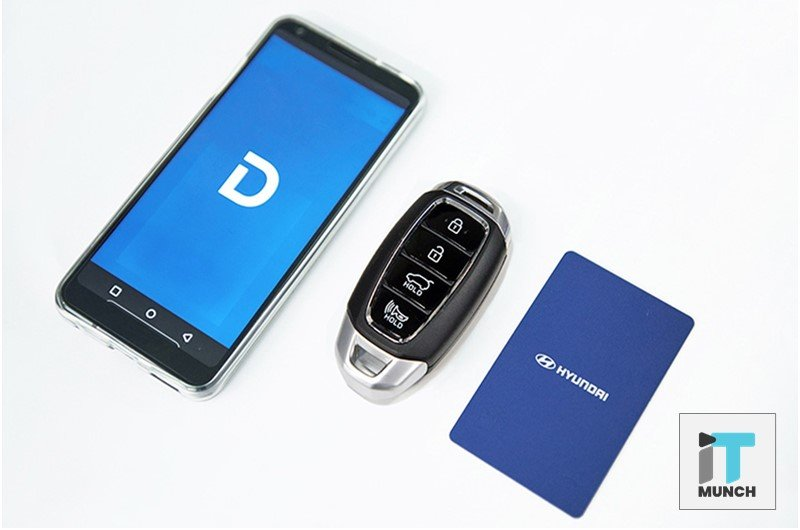 Start Hyundai car with smartphone digital key | iTMunch