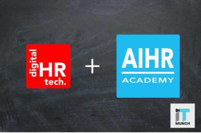 Merger between Digital HR Tech and AIHR Academy I iTMunch