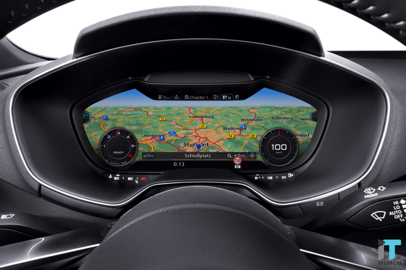 Glasses free 3D display for cars | iTMunch