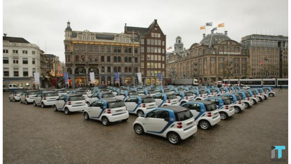 Car2Go cars  | iTMunch