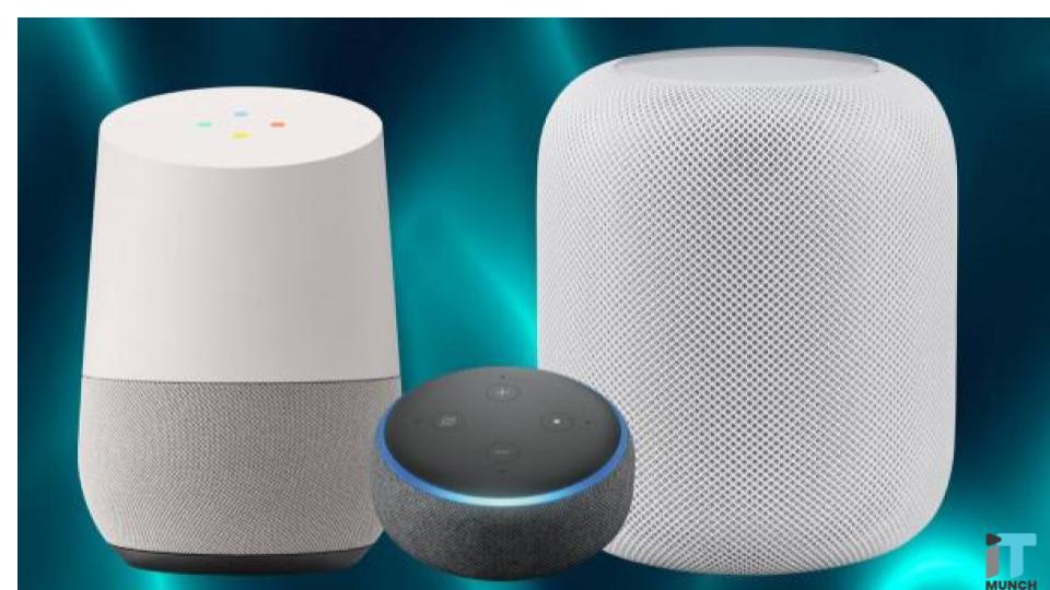 Google Home vs Baidu speakers  | iTMunch