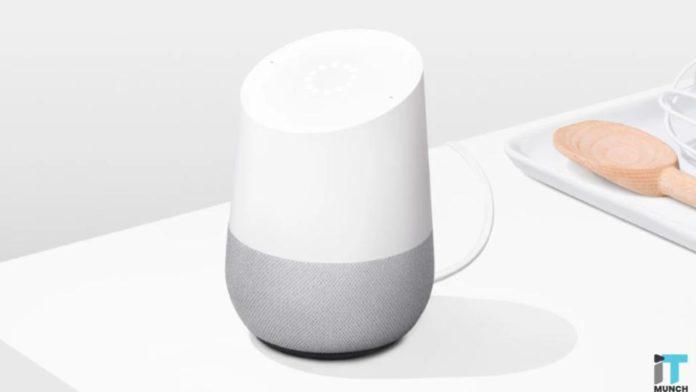 Google smart speaker | iTMunch