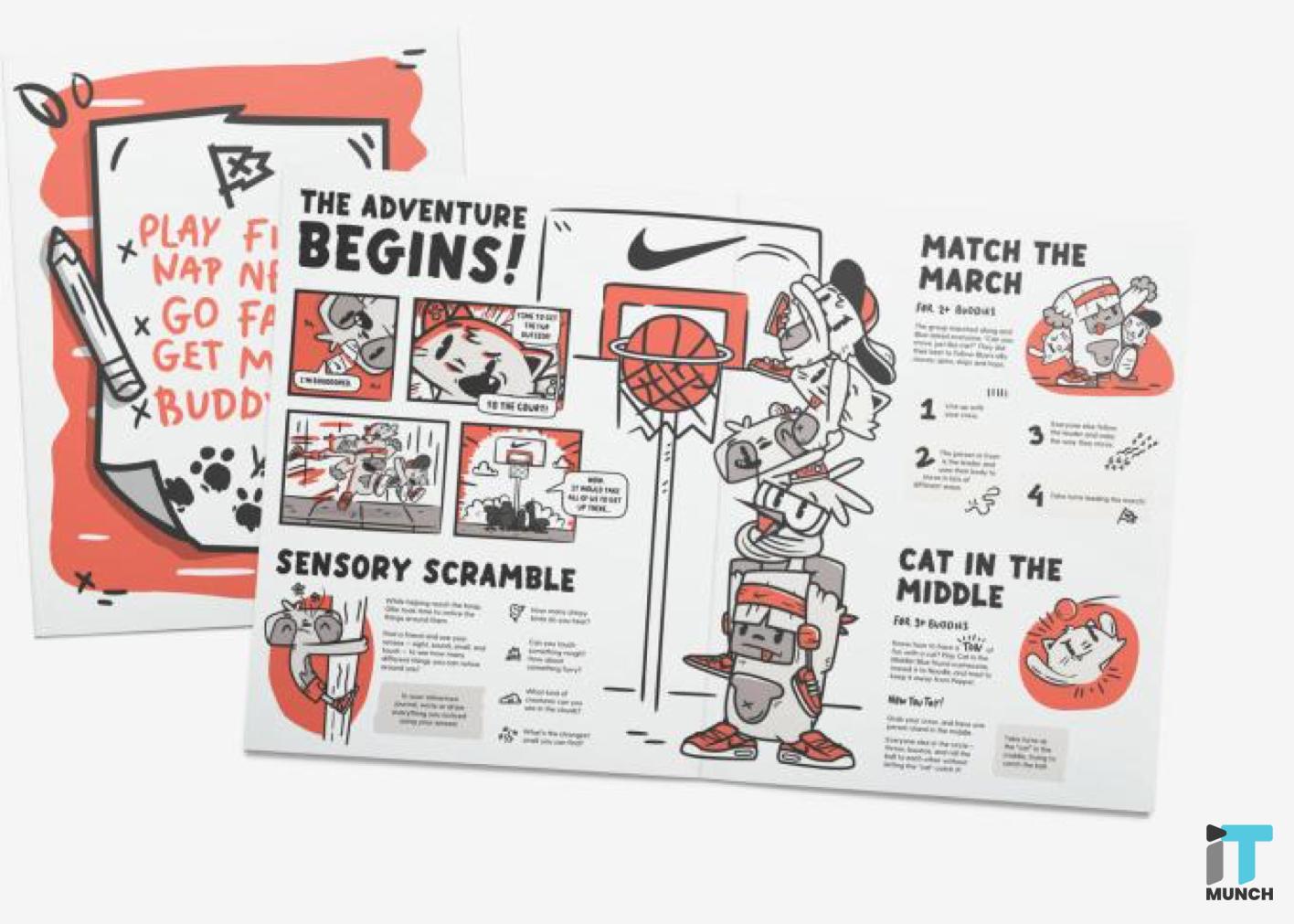 Nike adventure kit for children | iTMunch