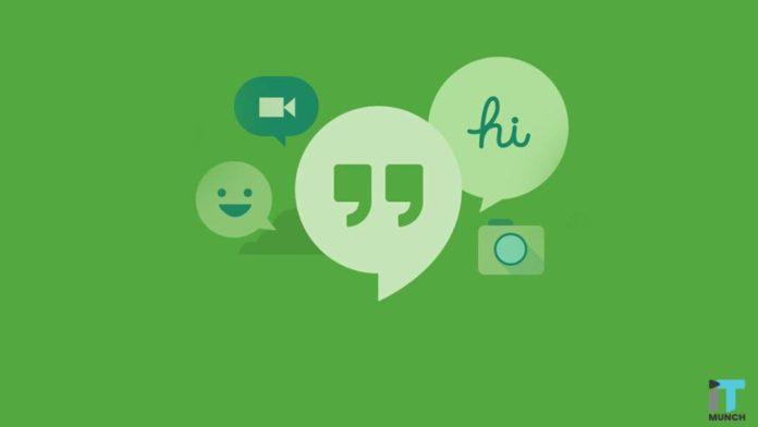 Google Hangouts and Google Meet I iTMunch