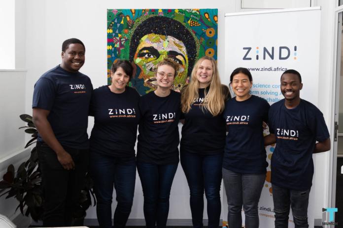 African startup Zindi team   iTMunch