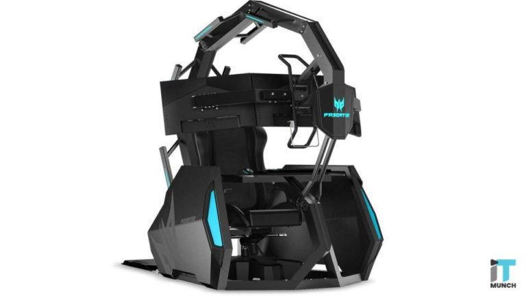 Acer's Predator Thronos Air gaming chair is set to take over your gaming room