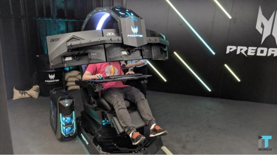 Remarkable Acer Launches Predator Thronos Air Gaming Chair Itmunch Uwap Interior Chair Design Uwaporg