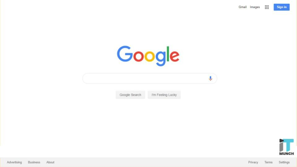 Google search | iTMunch