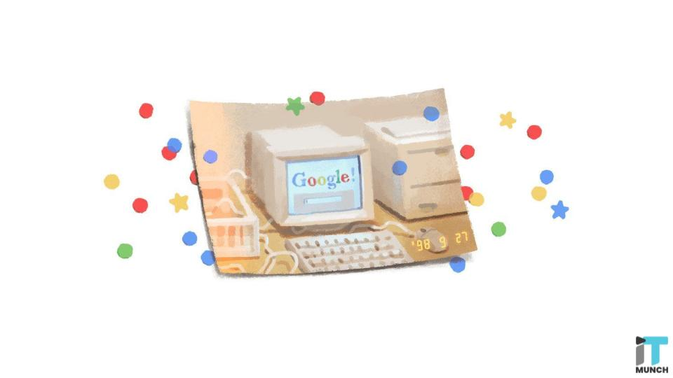 Google in 1998 | iTMunch