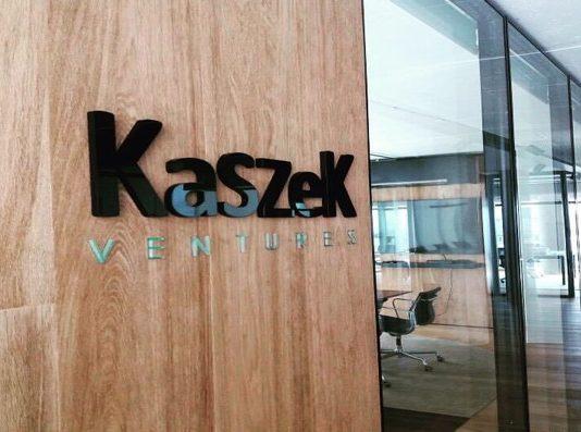 Kaszek Ventures written on office wall I iTMunch