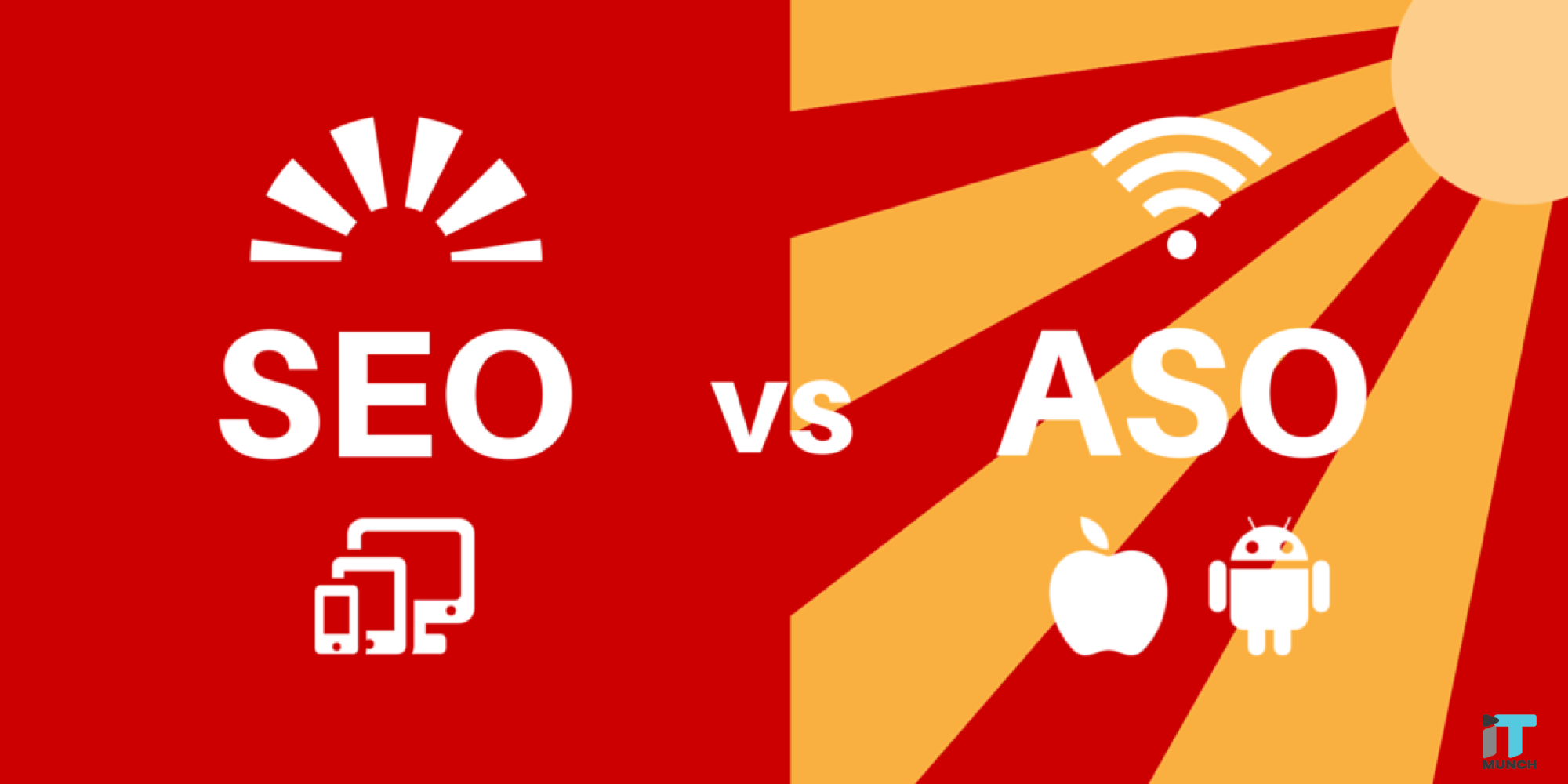 SEO vs ASO difference | iTMunch