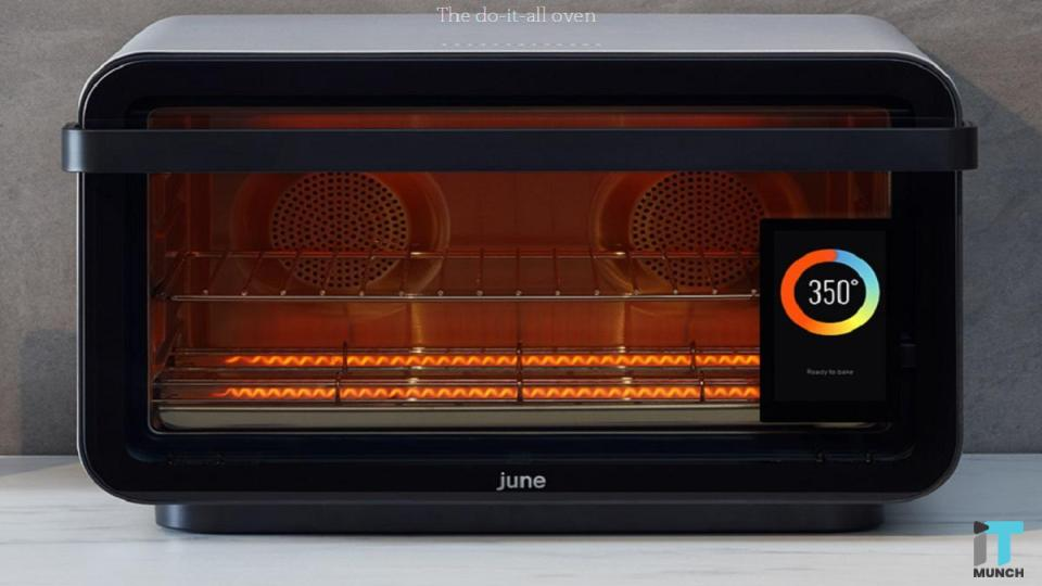 Smart June Oven turns on overnight and preheat to 400 degrees | IT Munch