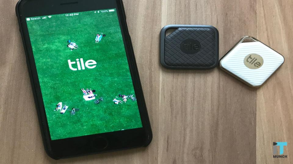 Tile app for users to find their lost items | iTMunch