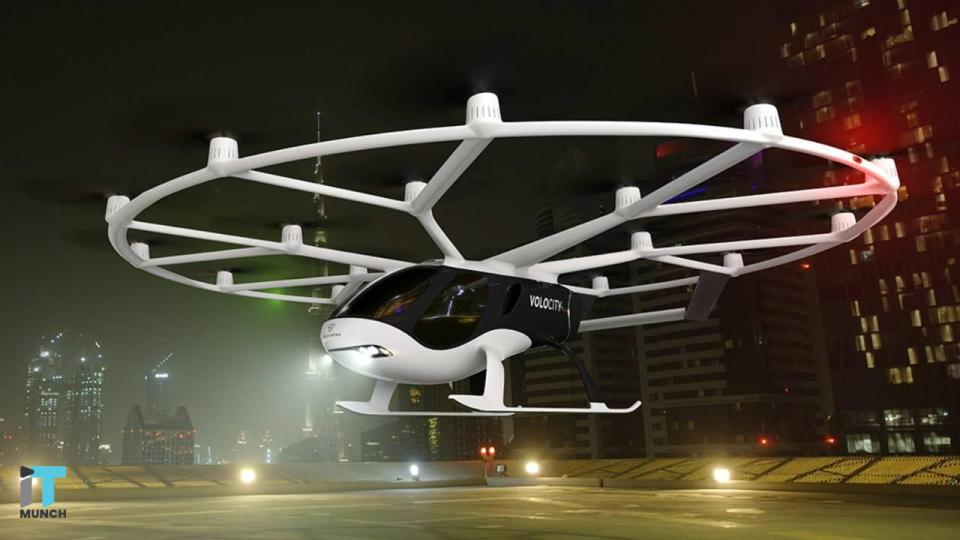 Volocoppter flying taxi project  | iTMunch