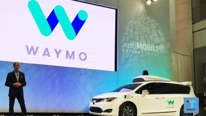 Waymo self drives taxi service | iTMunch