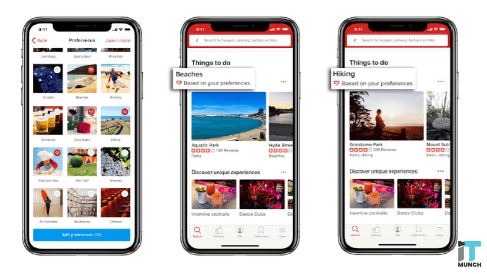 Yelp connect helps restaurants post updates | iTMunch