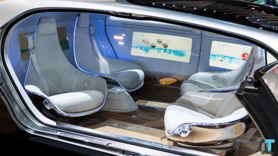 Driverless car Interior | iTMunch