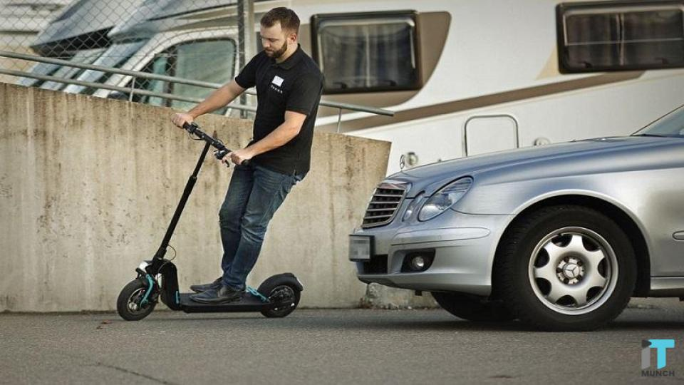 Two wheeled e-scooters by Mercedes-Benz | iTMunch