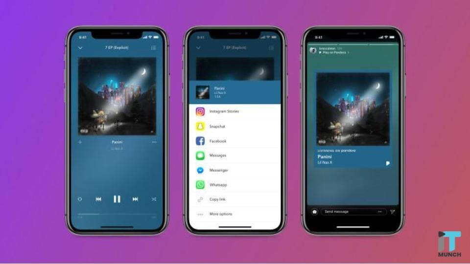 Pandora allows you to share podcasts on Instagram | iTMunch