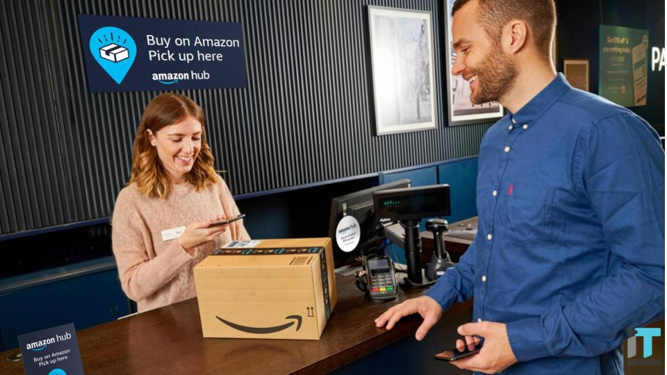 Amazon Delivery Pickup Counter | iTMunch