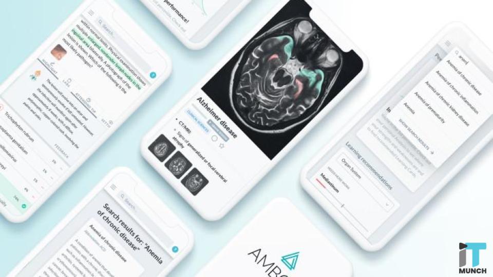 Amboss Medical Platform Mobile App Dashboard | iTMunch