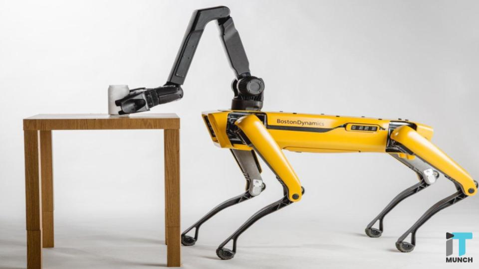 Quadrupedal robot of Boston Dynamics   iTMunch