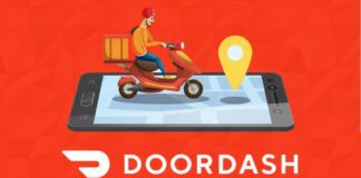 Sketch representing DoorDash I iTMunch