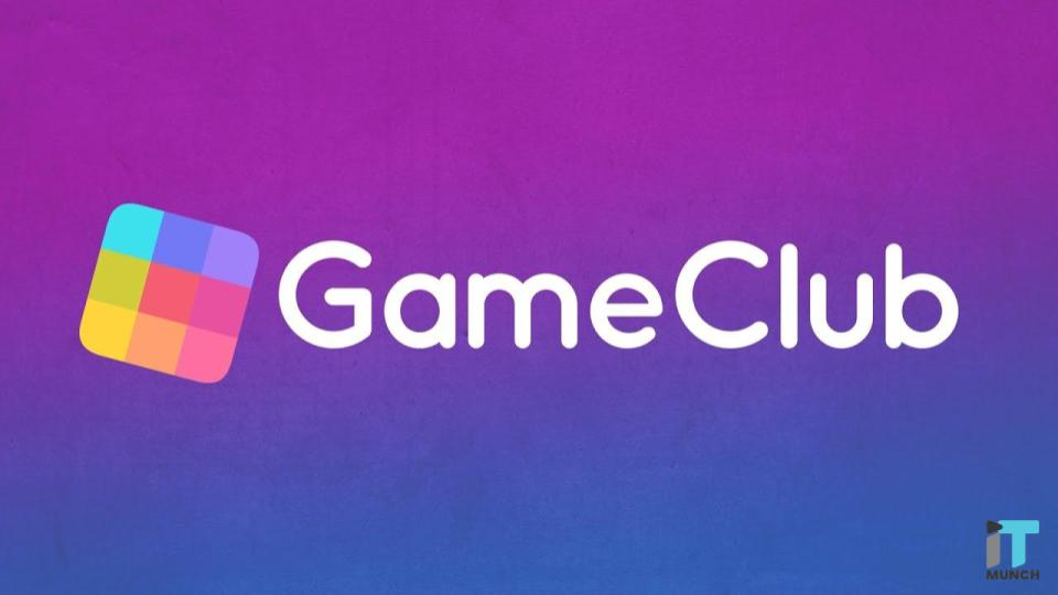 Game Club Official Logo | IT Munch