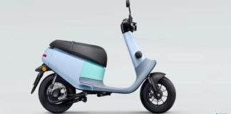 Viva scooter in blue colour | iTMunch
