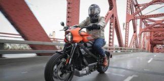 A man riding on Harley-Davidson LiveWire I iTMunch