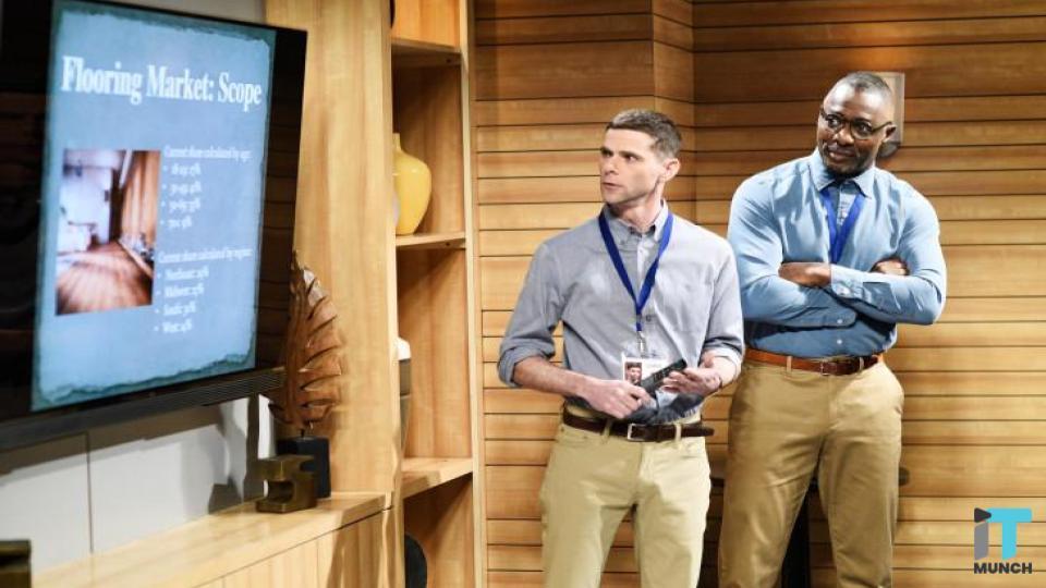 Two men giving presentation | iTMunch