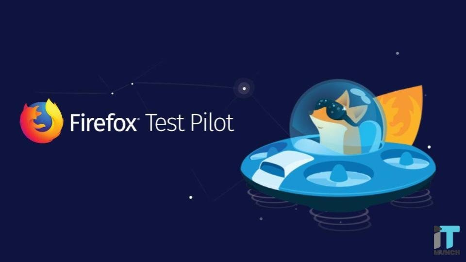 Firefox test pilot | iTMunch