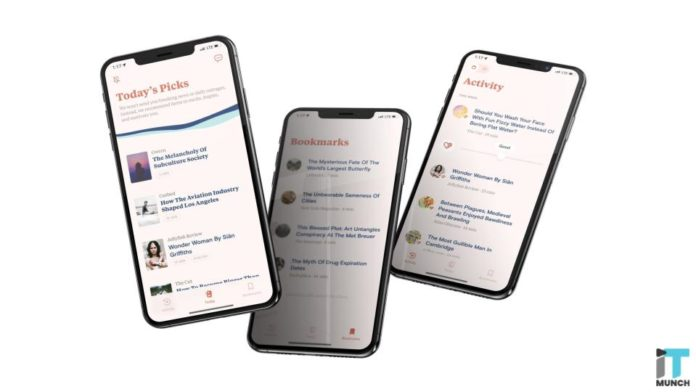 Personalised news section by Tonic | iTMunch