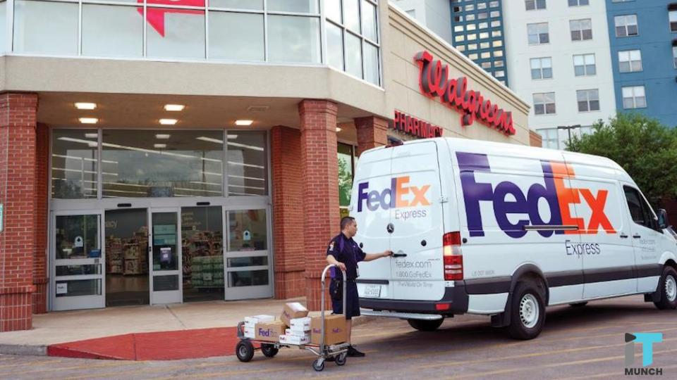 FedEx drop-off and pickup services at Walgreen stores | iTMunch