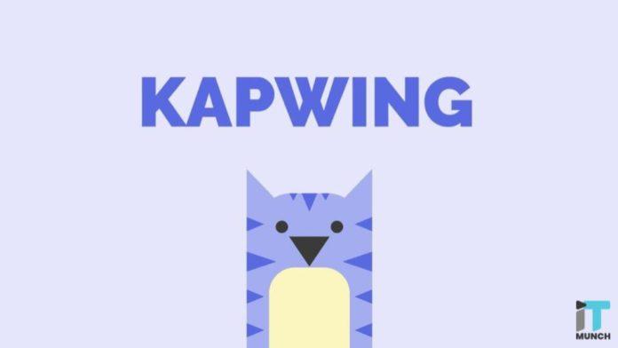 Kapwing logo I iTMunch