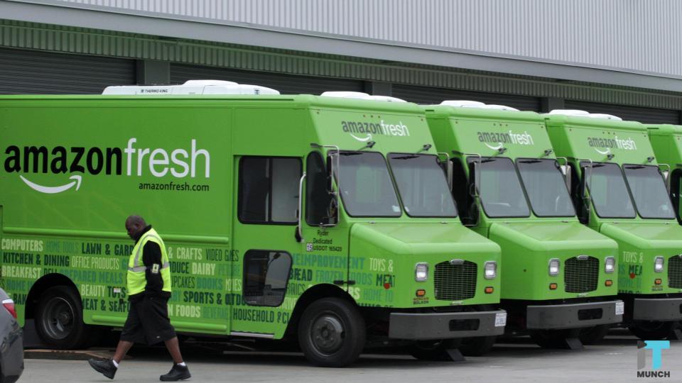 Amazon fresh truck | iTMunch